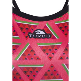 Turbo Watermelon Revolution Thin Strap Swimsuit Women Pink